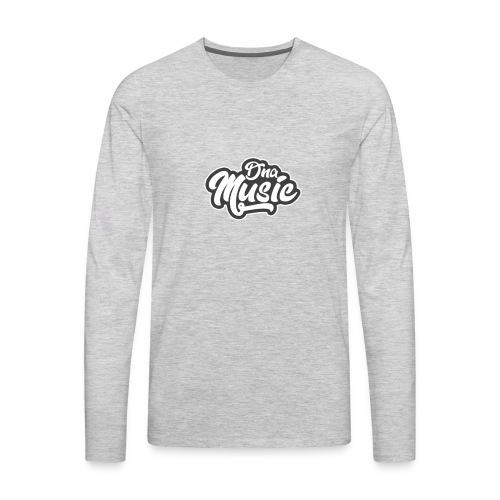 DNA MUSIC - Men's Premium Long Sleeve T-Shirt
