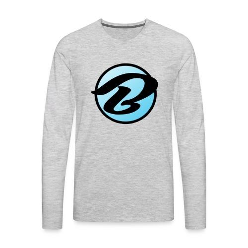 Bruiser Logo - Men's Premium Long Sleeve T-Shirt