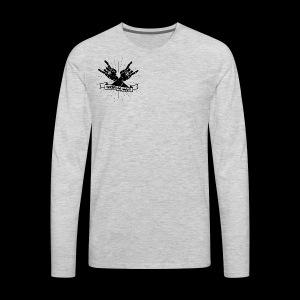 Rock Fists -black - Men's Premium Long Sleeve T-Shirt