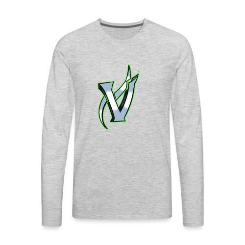 Vix V Symbol Altered - Men's Premium Long Sleeve T-Shirt