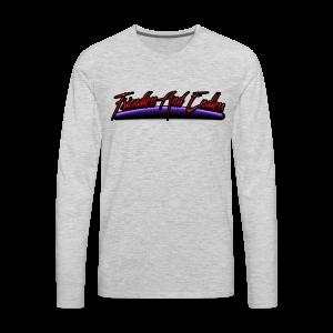 Retro logo - Men's Premium Long Sleeve T-Shirt