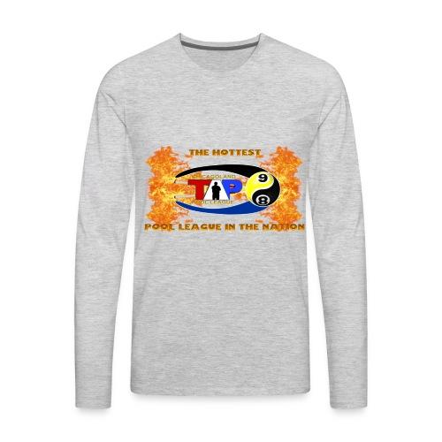 Chicagoland Fire Logo - Men's Premium Long Sleeve T-Shirt