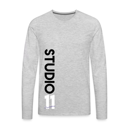 Verticle Studio 11 Cosmetics - Men's Premium Long Sleeve T-Shirt