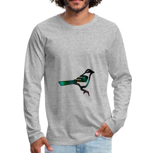 RiPNinjaGaming Logo - Men's Premium Long Sleeve T-Shirt