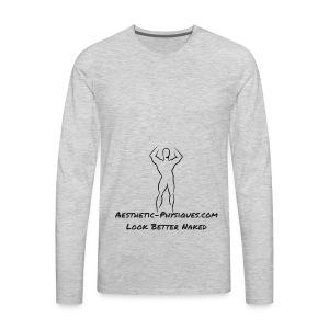 Classic Logo - Men's Premium Long Sleeve T-Shirt
