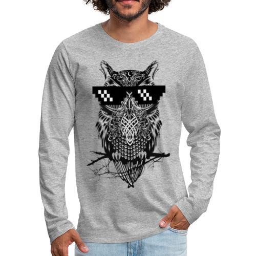 Owl - Men's Premium Long Sleeve T-Shirt