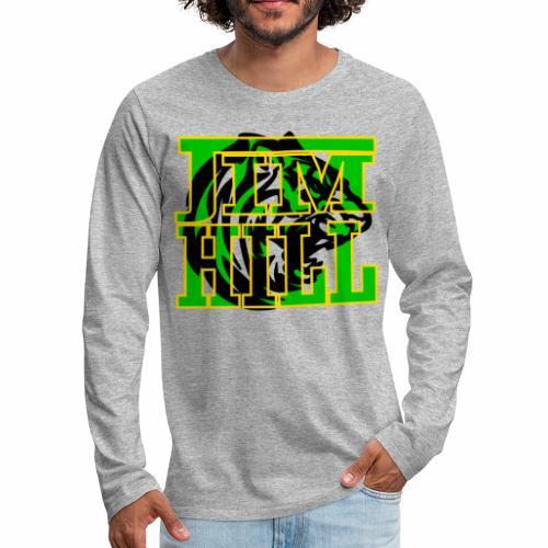 JIM HILL HIGH SCHOOL - Men's Premium Long Sleeve T-Shirt