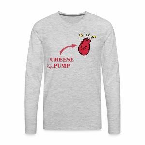 Cheesepump!! Fn Dante Savage - Men's Premium Long Sleeve T-Shirt