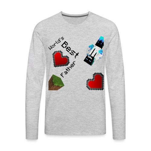 Worlds Best Father - Men's Premium Long Sleeve T-Shirt