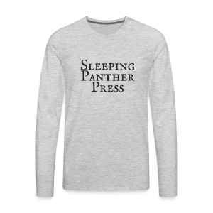 Sleeping Panther Press Black - Men's Premium Long Sleeve T-Shirt