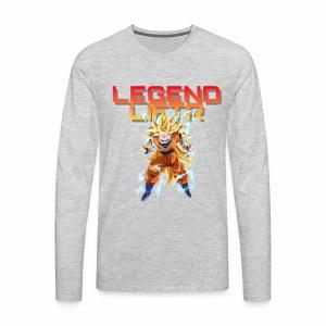 Saiyan Legend Liftr - Men's Premium Long Sleeve T-Shirt