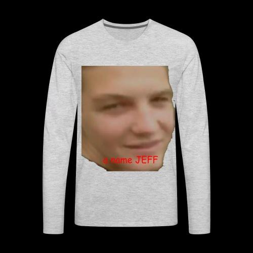 noah jeff - Men's Premium Long Sleeve T-Shirt