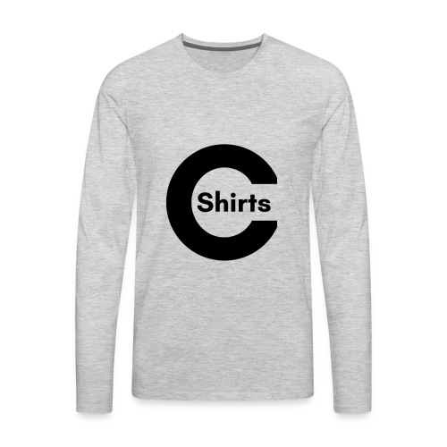 CShirts Original Logo - Men's Premium Long Sleeve T-Shirt