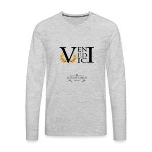 Veni Vedi Vici Long Sleeve T-Shirt - Men's Premium Long Sleeve T-Shirt