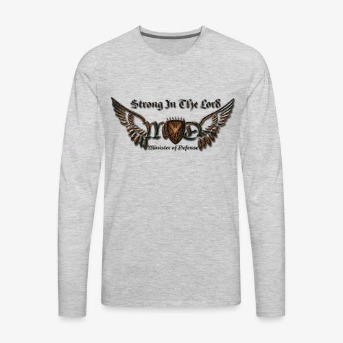 Iron MOD Logo w/Title - Men's Premium Long Sleeve T-Shirt