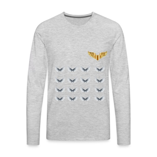 GOLDEN WINGS - Men's Premium Long Sleeve T-Shirt