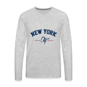 New York City Shirt - Men's Premium Long Sleeve T-Shirt