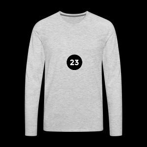 23 2014 logo - Men's Premium Long Sleeve T-Shirt
