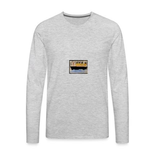 Titanic ship paint - Men's Premium Long Sleeve T-Shirt