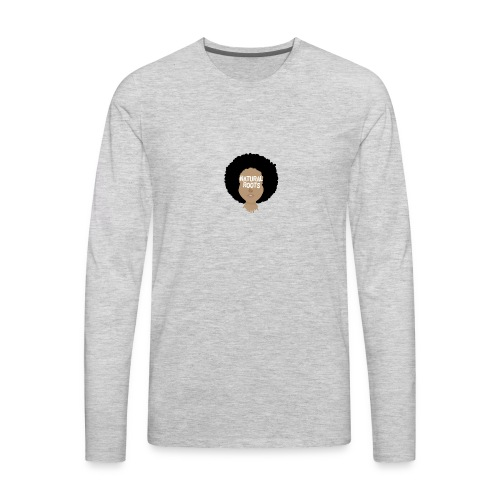 Natural - Men's Premium Long Sleeve T-Shirt