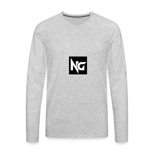 nick guzman merch - Men's Premium Long Sleeve T-Shirt