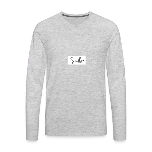 smile - Men's Premium Long Sleeve T-Shirt