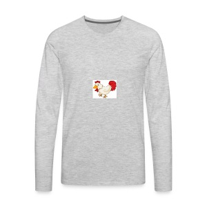 chicken the fredy - Men's Premium Long Sleeve T-Shirt