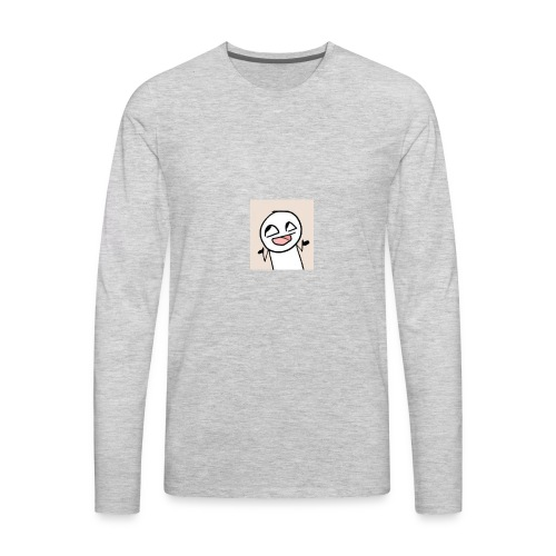 My main channel picture - Men's Premium Long Sleeve T-Shirt