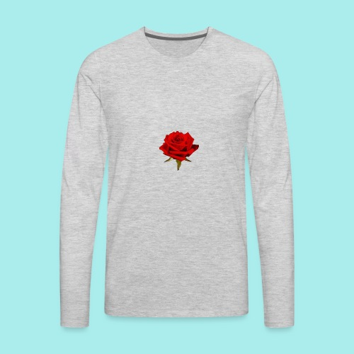 Rose For My Sweet - Men's Premium Long Sleeve T-Shirt
