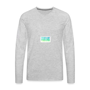 Bodied By Bella - Men's Premium Long Sleeve T-Shirt