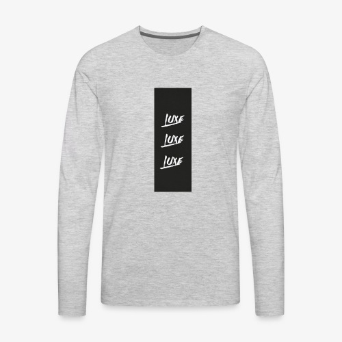 Tri-Luxe - Men's Premium Long Sleeve T-Shirt