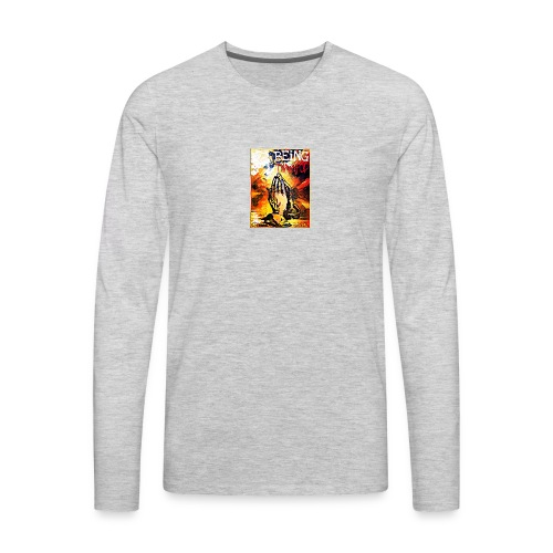 Being Thankful - Men's Premium Long Sleeve T-Shirt
