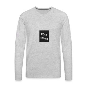 MAX Hoddie - Men's Premium Long Sleeve T-Shirt