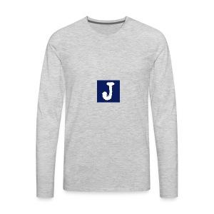 j logo big - Men's Premium Long Sleeve T-Shirt