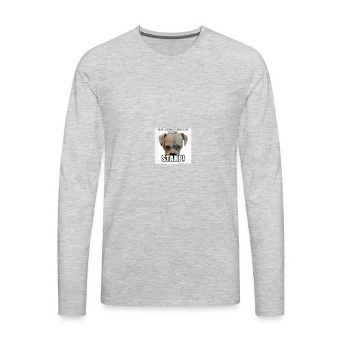 svar what are you doing svar stahp - Men's Premium Long Sleeve T-Shirt