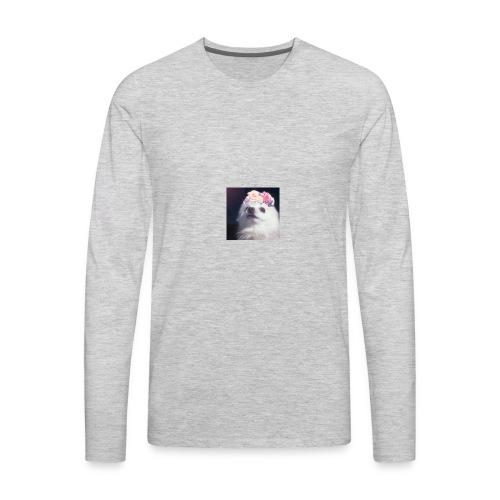 Doggo :3 - Men's Premium Long Sleeve T-Shirt