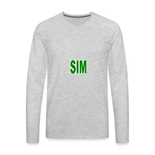 SIM - Men's Premium Long Sleeve T-Shirt