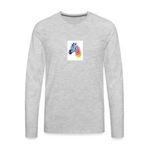 Offical Zebra - Men's Premium Long Sleeve T-Shirt
