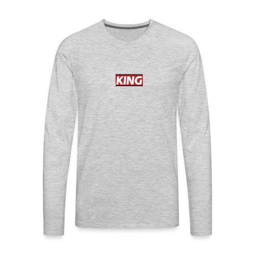 King phone case - Men's Premium Long Sleeve T-Shirt