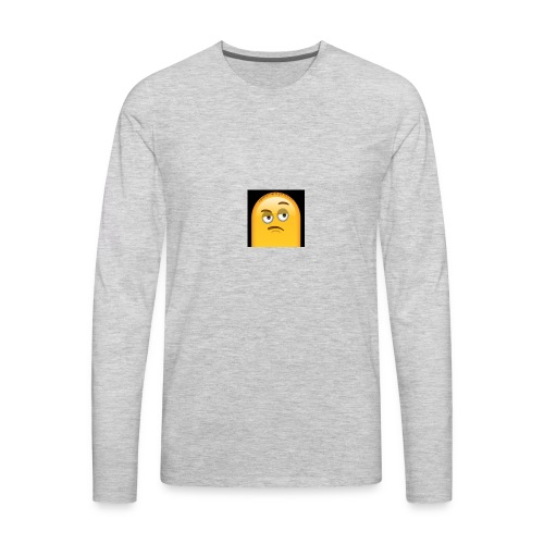 who me? - Men's Premium Long Sleeve T-Shirt