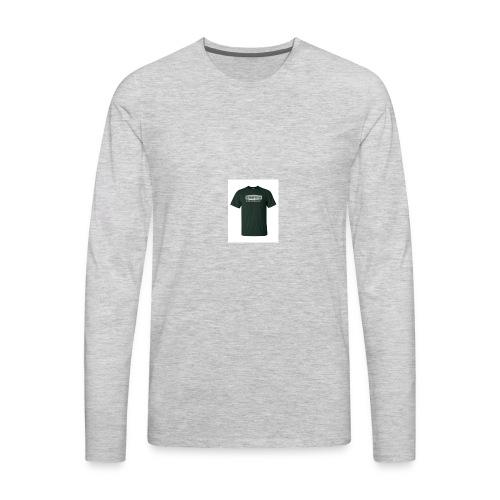 Black T Shirt - Men's Premium Long Sleeve T-Shirt
