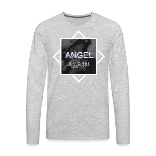 ANGEL Album by GOC REI & Borimore - Men's Premium Long Sleeve T-Shirt