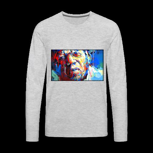 Keith B. Still image from Twitter - Men's Premium Long Sleeve T-Shirt