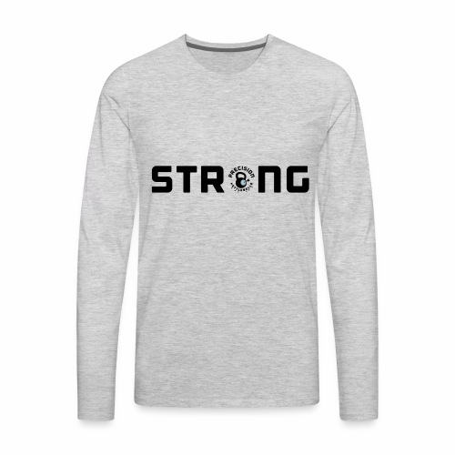 PK Strong - Men's Premium Long Sleeve T-Shirt