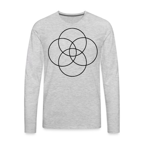 Circles - Men's Premium Long Sleeve T-Shirt