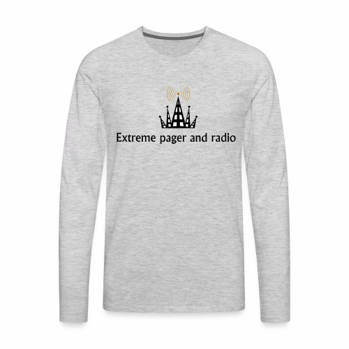 extreme pager and radio - Men's Premium Long Sleeve T-Shirt