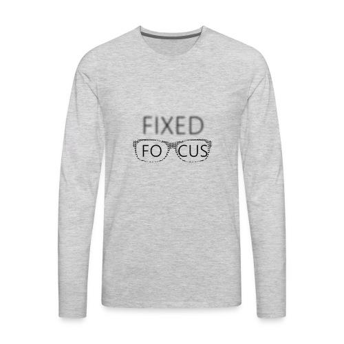 FIXED FOCUS 2017 - Men's Premium Long Sleeve T-Shirt