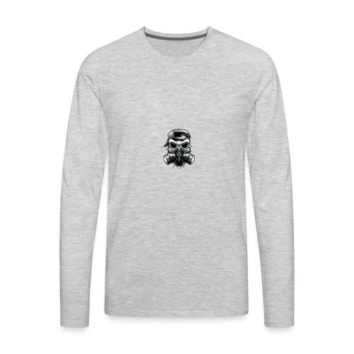 Gangstar Skull - Men's Premium Long Sleeve T-Shirt