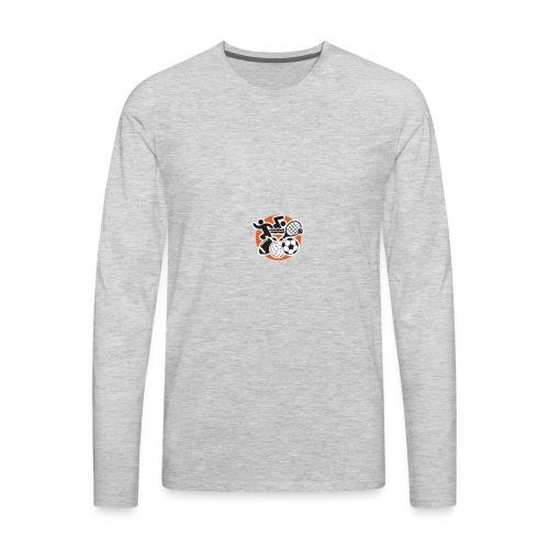 FallSportsIcon - Men's Premium Long Sleeve T-Shirt