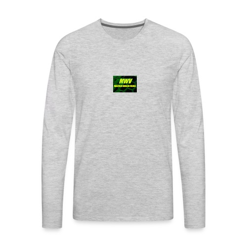 MWV vlogs - Men's Premium Long Sleeve T-Shirt